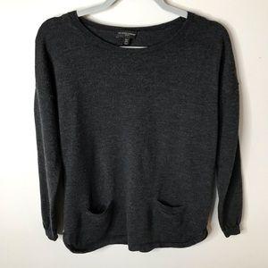 The White Company London • Charcoal Sz 6 Sweater